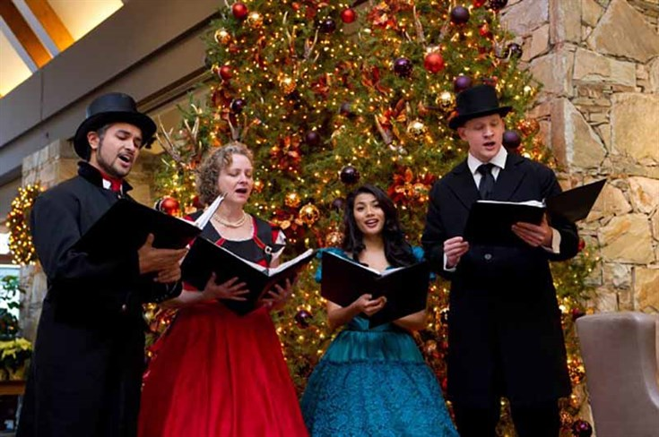 Whistler Holiday Events Caroling