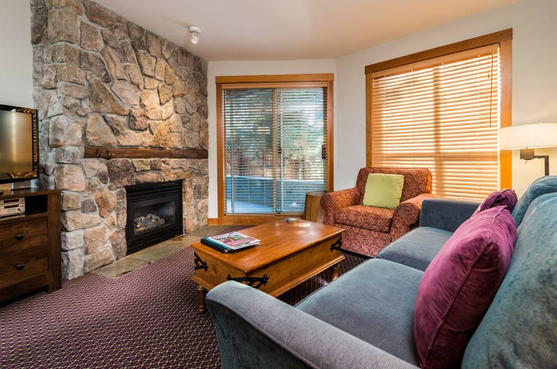 Two Bedroom Creekside Accommodation Legends Whistler